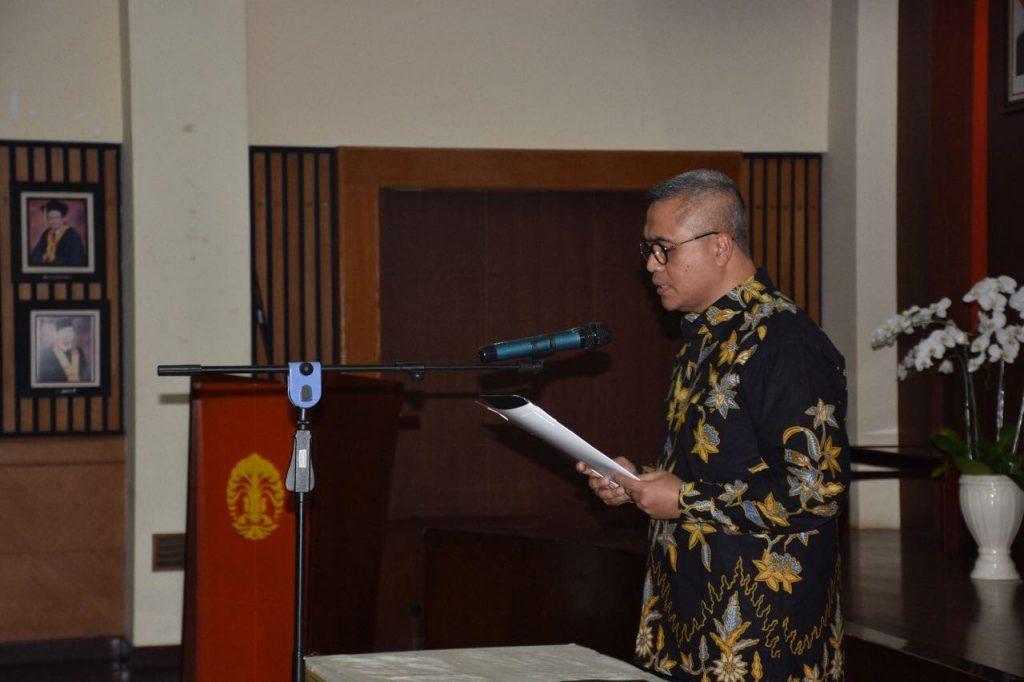 Pengambilan Komitmen Dewan Pengurus Pusat IAPA dipimpin oleh Prof. Dr. Eko Prasojo, Mag.rer.publ