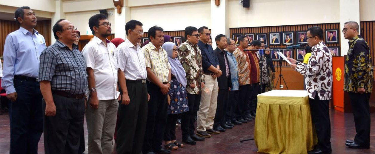 Pengukuhan Dewan Pengurus Pusat IAPA